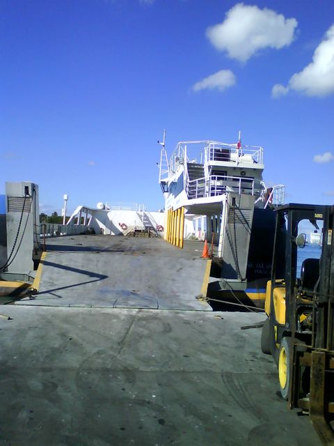 Loading for Andros