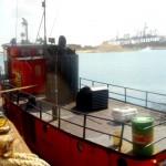 Tug, upper stern deck 14.5x15